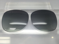 Custom Coach Tasha S846 Grey Gradient Polarized Lenses