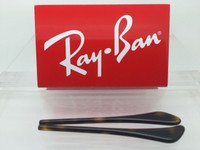 Authentic Rayban Ear Socks / Temple Tips for RB 3025, 3026 3029, 3136, 3362 & 3447 Aviators Tortoise