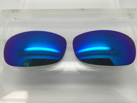 Custom Costa Del Mar  Brine Glass Polarized Blue Mirror w/  backside AR Coating PROFESSIONAL INSTALLATION IS REQUIRED - PLEASE READ ITEM DESCRIPTION BEFORE PURCHASE