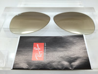 Authentic  Rayban RB 3362 & 8301 Brown Gradient Glass Non-Polarized Lenses SIZE 56