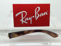 Authentic Rayban RB 4068, 4075, 4026, or 4037 Tortoise / HavanaReplacement Temple LEFT SIDE ONLY