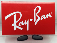 Authentic Rayban 3542 Black Crimp On Nose Pads