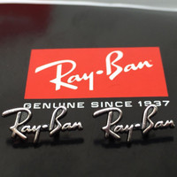 Authentic Rayban Replacement Icons / Temple Logos for RB 2132 New  & 4165 Justin