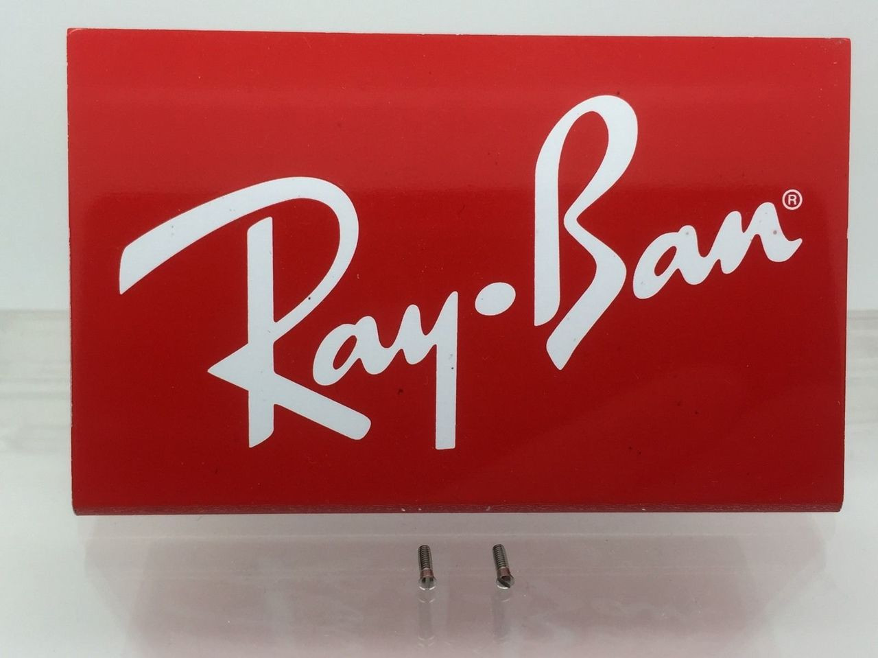 80bc3b4459 ... AUTHENTIC REPLACEMENT RAY-BAN RB 4147 TEMPLE HINGE SCREWS PAIR NEW  GENUINE. Image 1. Loading zoom