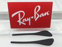 Authentic Rayban RB 4187 CHRIS Black Replacement Temple Tips / Ear Socks