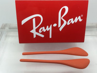 Authentic Rayban RB 4171 ERIKA OR 4187 CHRIS  Orange Replacement Temple Tips / Ear Socks