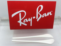 Authentic Rayban Ear Socks / Temple Tips for RB 3025,3026, 3029, 3044 or 3174  Aviator White