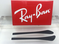 Authentic Rayban Ear Socks/ Temple Tips for  RB 3429 Black w/ Pointed End