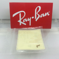 AUTHENTIC GOLD  REPLACEMENT RAY-BAN RB 3483 TEMPLE/HINGE SCREWS PAIR NEW GENUINE