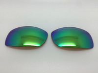 MJ Peahi 202 - Aftermarket Custom Brown with Green reflective coating-Polarized (lenses are sold in pairs)
