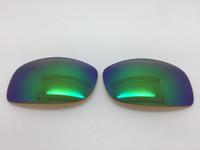 Custom Brown with Green Mirror Coating Polarized Lens Pair SENDING IN FRAMES_