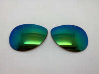 Oakley Tie Breaker Aftermarket Green Mirror Polarized Lenses (lenses are sold in pairs)