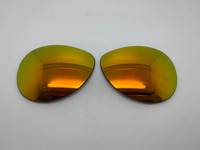 Oakley Tie Breaker Aftermarket Orange  Mirror NON polar Lenses (lenses are sold in pairs)