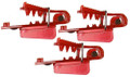 4301 Roto Chip Bait Head Unrigged - Red - 3 pack