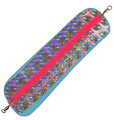 "HC11-714 HotChip Flasher 11"" Super UV Blue with Plaid and a Red Stripe"