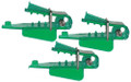 4306 Roto Chip Bait Head Unrigged - Green - 3 pack