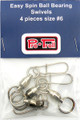 2030 Premium Pro-Troll Ball Bearing Swivels - Pkg of 4