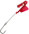 1921 E-Rotary Big Fin Bait Holder Red