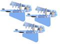 4515 Roto Chip Bait Head Unrigged - Super UV Big Fin - 3 pack