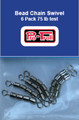 2032 Bead Chain Swivels  - Pkg of 6