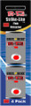 SL4-400R Strike-Lite LED Lights (Red - 4 pk)
