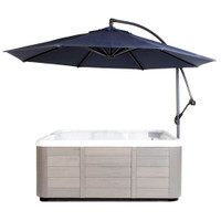 Spa Side Umbrella, Navy
