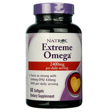 Fish Oil - Extreme Omega by Natrol