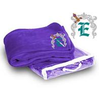 Embroidered Fleece Blanket