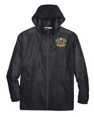 Printed Unisex Lightweight Weather Resistant Jacket