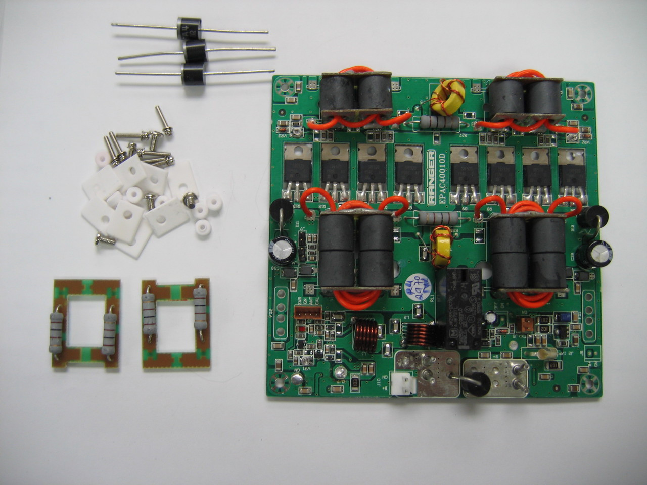 Ranger 2970N2 Amp Board with Feedback Boards and Transistors on