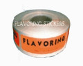 LARGE ROLL FLAVORING STICKERS APPROX COUNT 1000