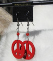 Peace Symbol Earrings ER176