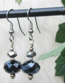 Navy Blue Crystal Earrings ER120