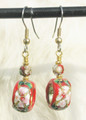Cloisonne Earrings ER268
