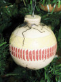 Native American Made Horse Hair Pottery Christmas Ornament