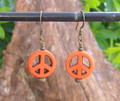 Peace Symbol Earrings ER320