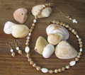 Mother of Pearl Necklace & Earrings
