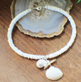 Clam Shell and Mother of Pearl Anklet