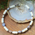 Clam Shell & Purple Shell Anklet