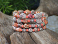 Speckled Fun Wrap a Around Bracelet