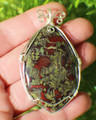 Dragons Blood Jasper Pendant