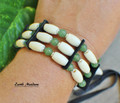 Native Bracelet w/ Green Aventurine