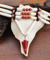 Red Jasper Arrowhead Choker