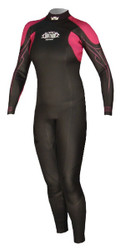 Women's Past Season Power Glide 5/3/2mm Fullsuit - Rose (E54)