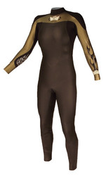 Women's Past Season After Burner 5/3/2mm Fullsuit - Gold (F08)