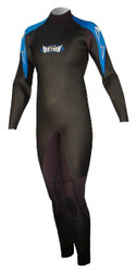 Women's Past Season 5/3 Storm Wind Fullsuit - Blue (E09)