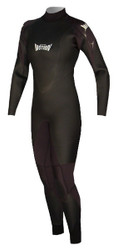 Women's Past Season 5/3 Storm Wind Fullsuit - Black (E12)