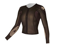 Women's Tri Sleeves 2/1mm Jacket - Jet Black (E61)