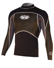 Men's 1.5mm L/S NeoSkin - Black/Grey (G15)