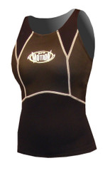 Women's 1.5mm Charger Vest - Black (G23)